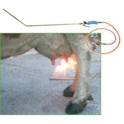 Lanza quema pelos llama fría