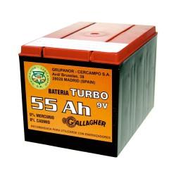 Pila de energizador 55 Ah