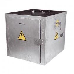 Caja metálica electrificada