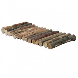 L.W LOGS MADERA FLEXIBLE 10...