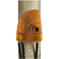 Derivador de rayos regulable