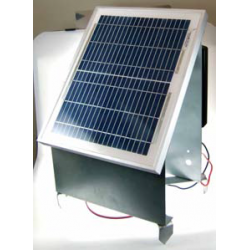 Pastor eléctrico solar 10W...
