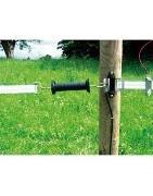 puertas eléctricas para cercados eléctricos para caballos vacas oveja