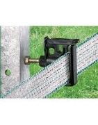 aisladores para postes metálicos de cerca eléctricas